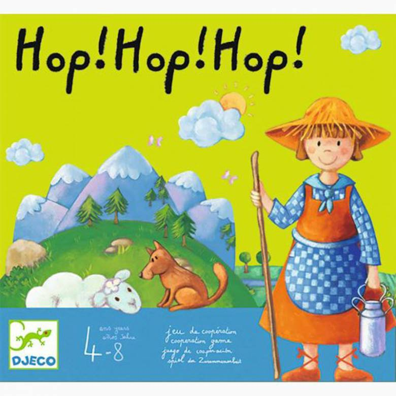 Hop! Hop! Hop! Game By Djeco 4-8yrs