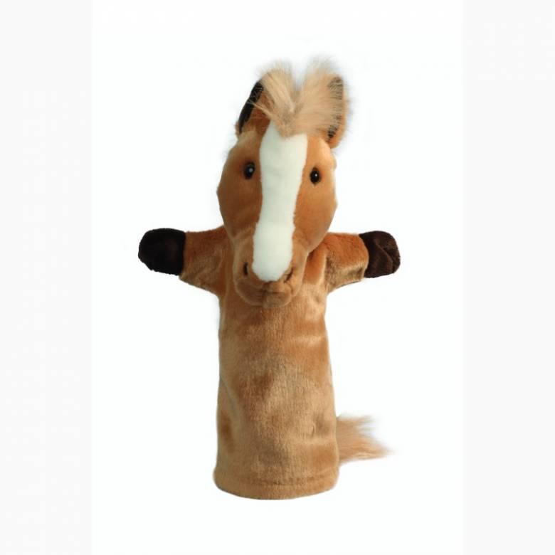 Horse - Long Sleeved Glove Puppet 3+