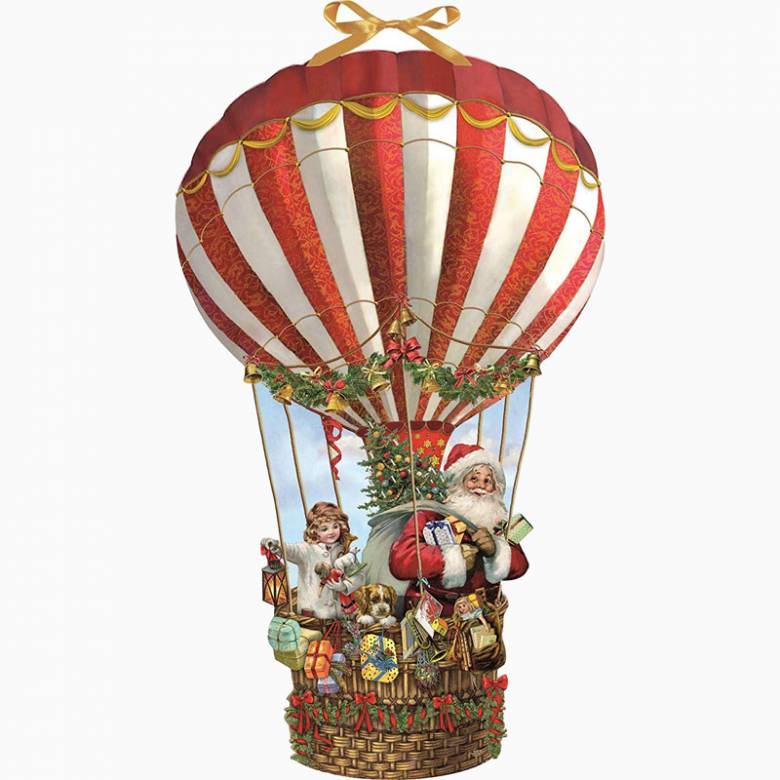 Hot Air Balloon Christmas Advent Calendar