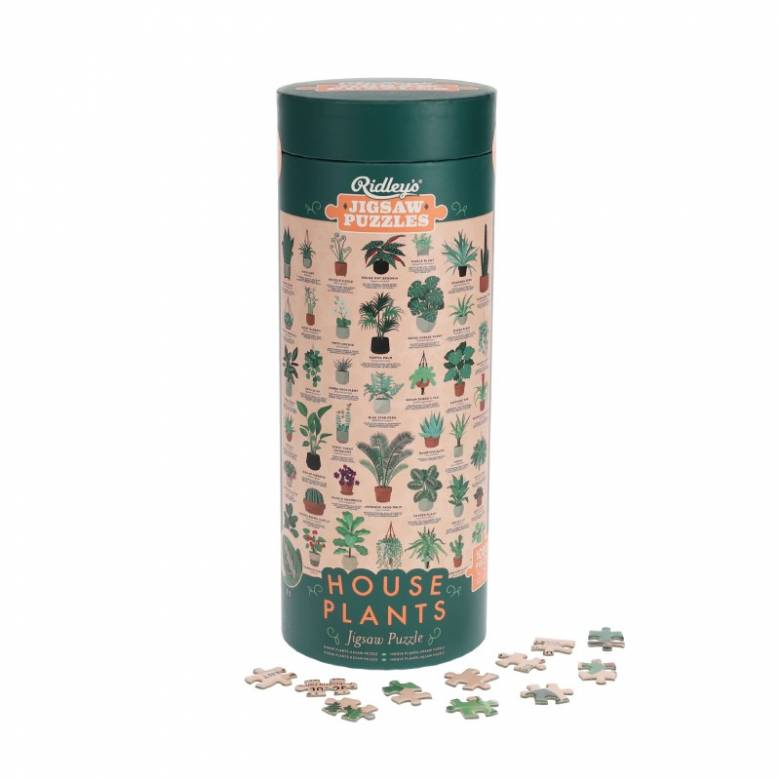 House Plants - 1000 Piece Jigsaw Puzzle