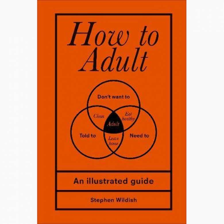 How To Adult - Hardback Book