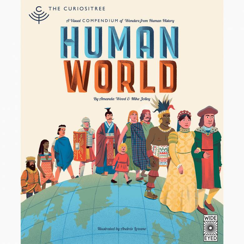 Human World - Hardback Book