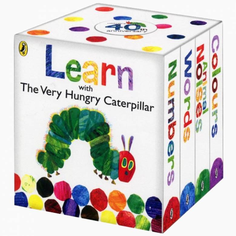 Hungry Caterpillar Set Of Books Little Library