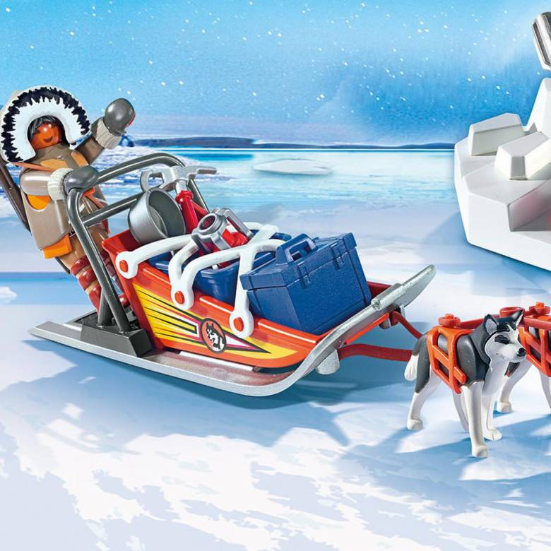 Husky-Drawn Sled Playmobil 9057