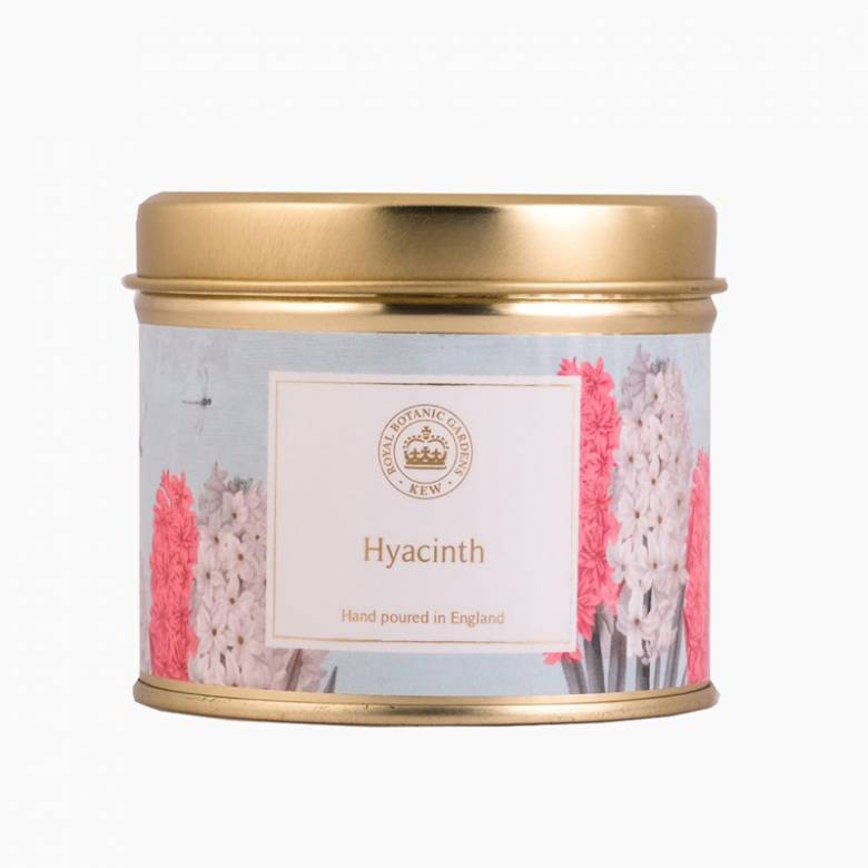 Hyacinth Kew Aromatics Candle In Tin 160g