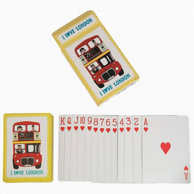 I Love London Playing Cards