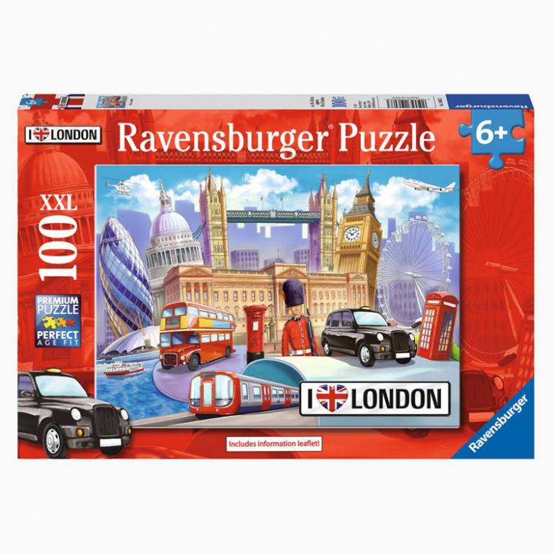 I Love London 100 Piece Puzzle 6+