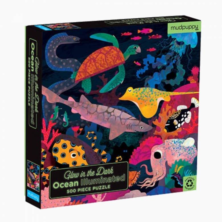 Iluminated Ocean - Glow In The Dark Puzzle 500pc 8+