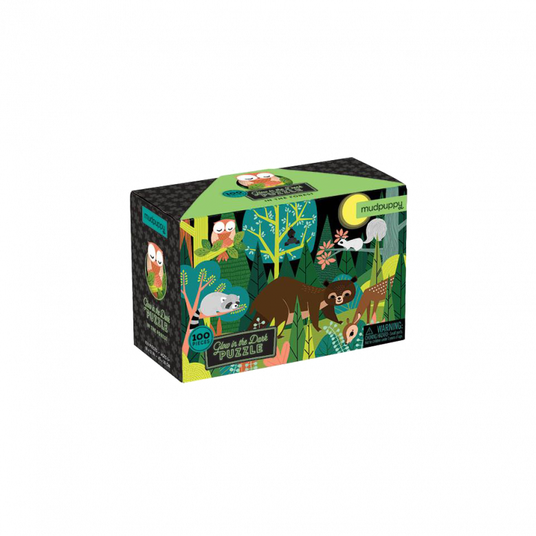 In The Forest  - Glow In The Dark Jigsaw Puzzle 5+