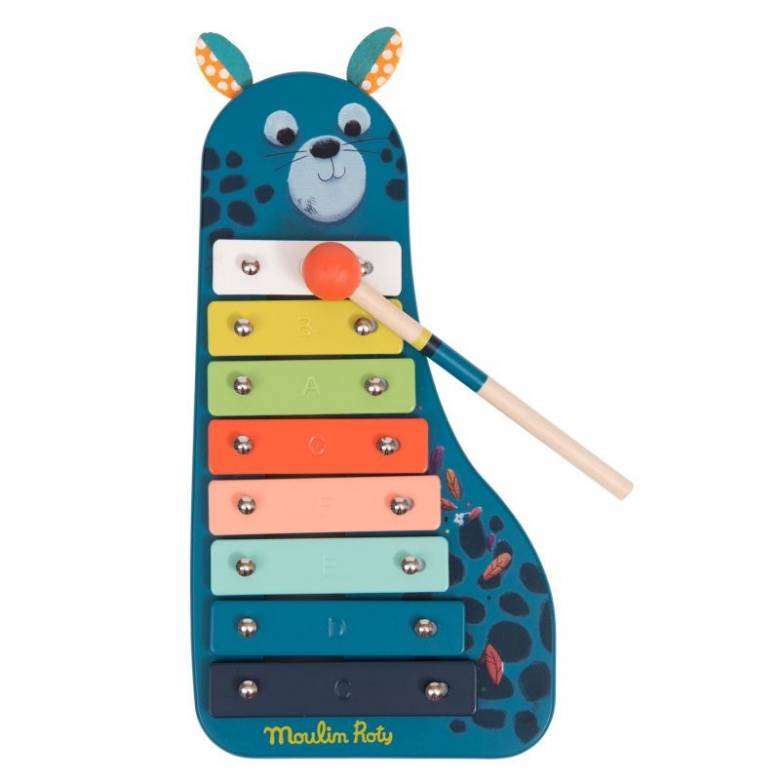 In The Jungle Metallophone Xylophone Musical Toy 18m+
