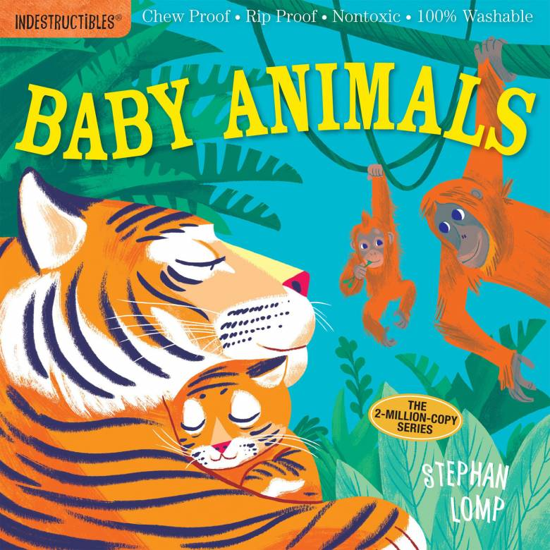 Indestructibles: Baby Animals - Paper Book