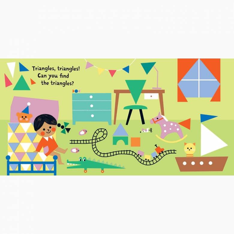 Indestructibles: Baby, Find the Shapes! - Paper Book