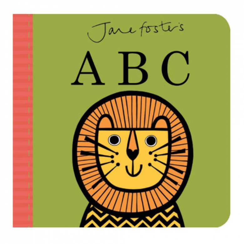 Jane Foster's ABC Board Book