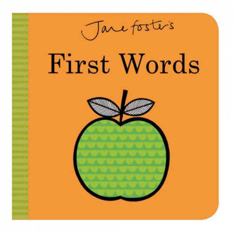 Jane Foster's First Words Board Book