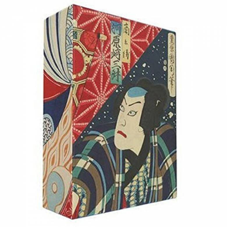 Box Of 100 Japanese Woodblock Print Postcards