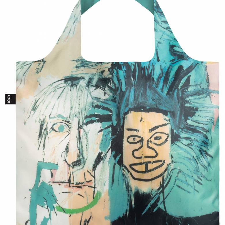 Jean Michel Basquiat Warhol Bag - Reusable Tote Bag With Pouch