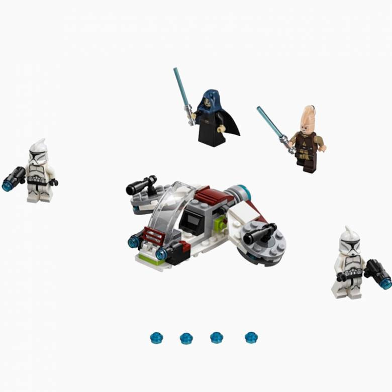 LEGO® Star Wars Jedi™ and Clone Troopers™ Battle Pack 75206