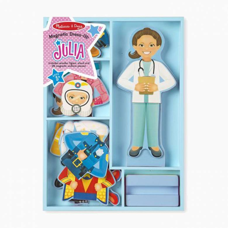 Julia Magnetic Pretend Play 3+
