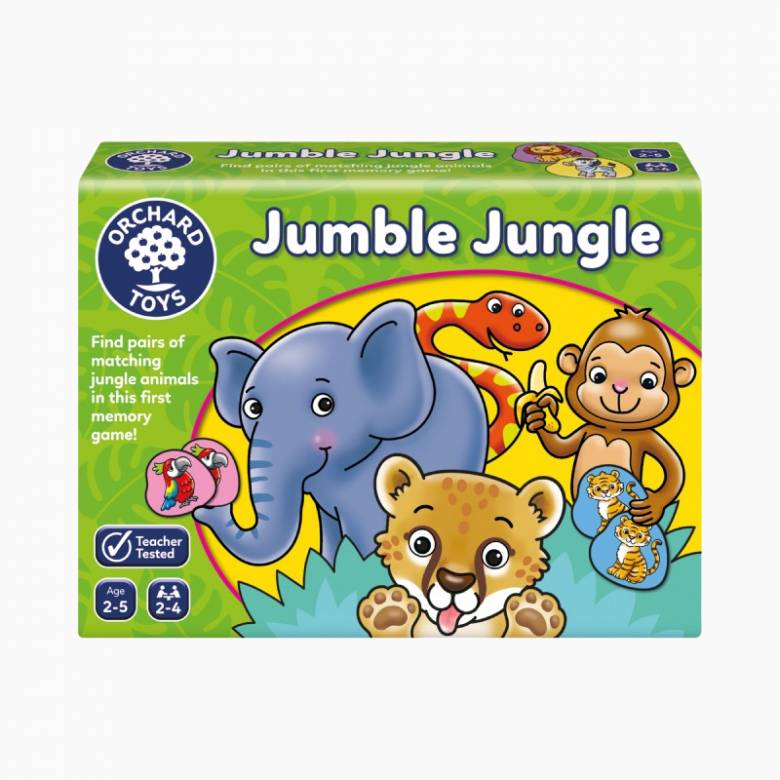 Jumble Jungle Game By Orchard Toys 2-5yrs