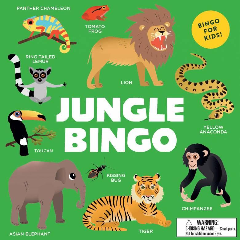 Jungle Bingo Game