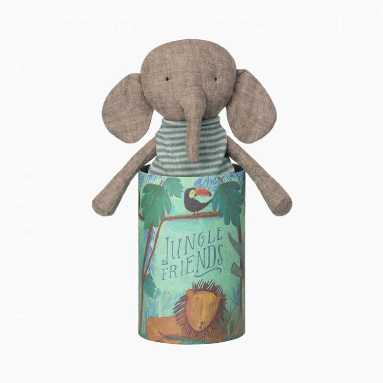 Jungle Friends - Elephant - Soft Toy By Maileg 0+