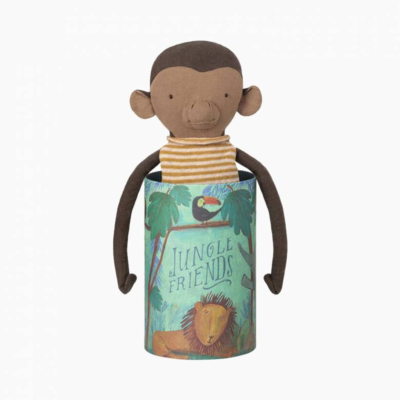 Jungle Friends - Monkey - Soft Toy By Maileg 0+