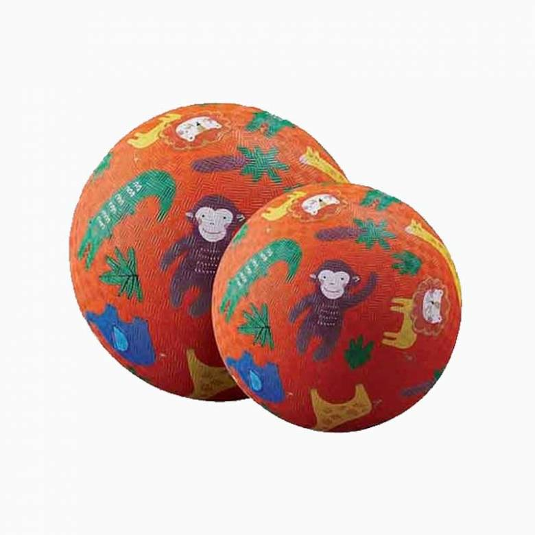 Jungle - Small Rubber Picture Ball 13cm