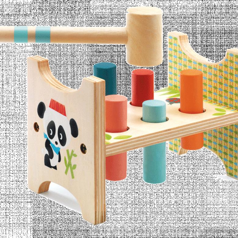 Junzo Taptap Hammer Peg By Djeco