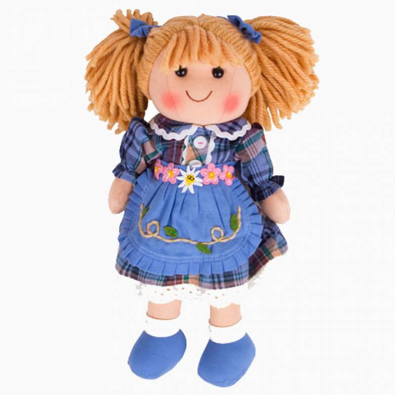 Katie Traditional Rag Doll Girl 35cm