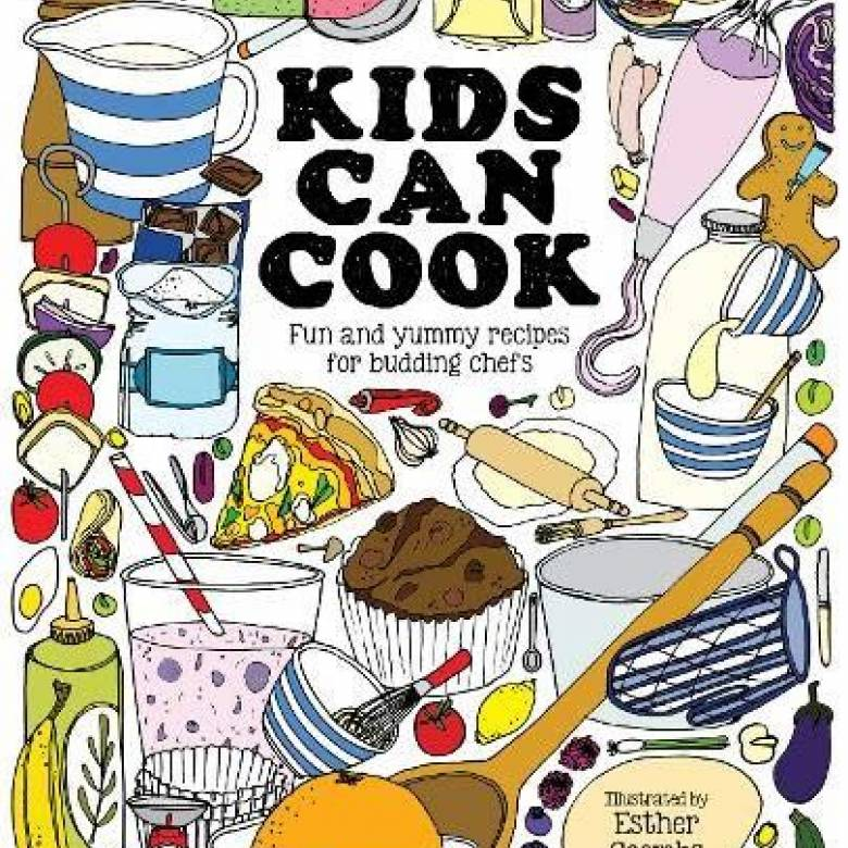 Kids Can Cook Hardback By Esther Coombs