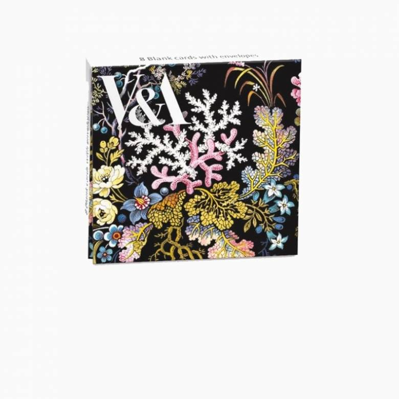 Kilburn Coral - Pack Of 8 Notecards And Envelopes
