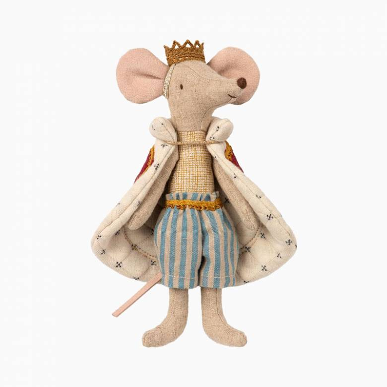 Mouse King Soft Toy By Maileg