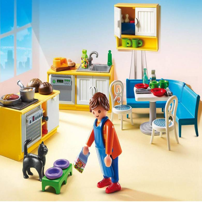 Country Kitchen Playmobil Dollhouse 5336 4-10yrs