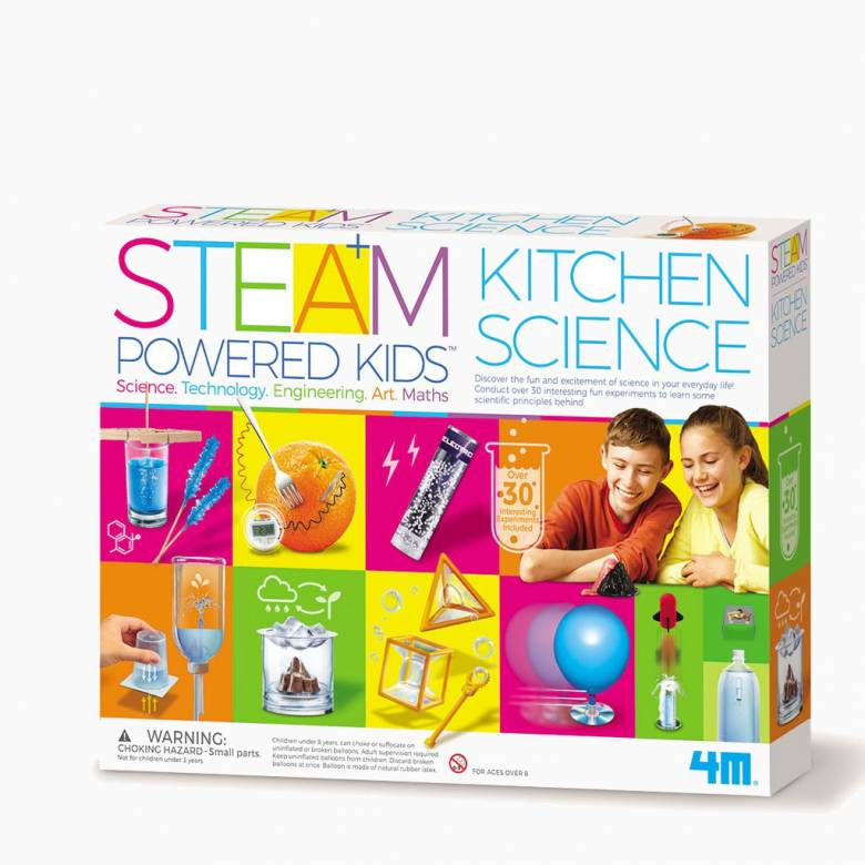 Kitchen Science - STEM Science Kit 8+