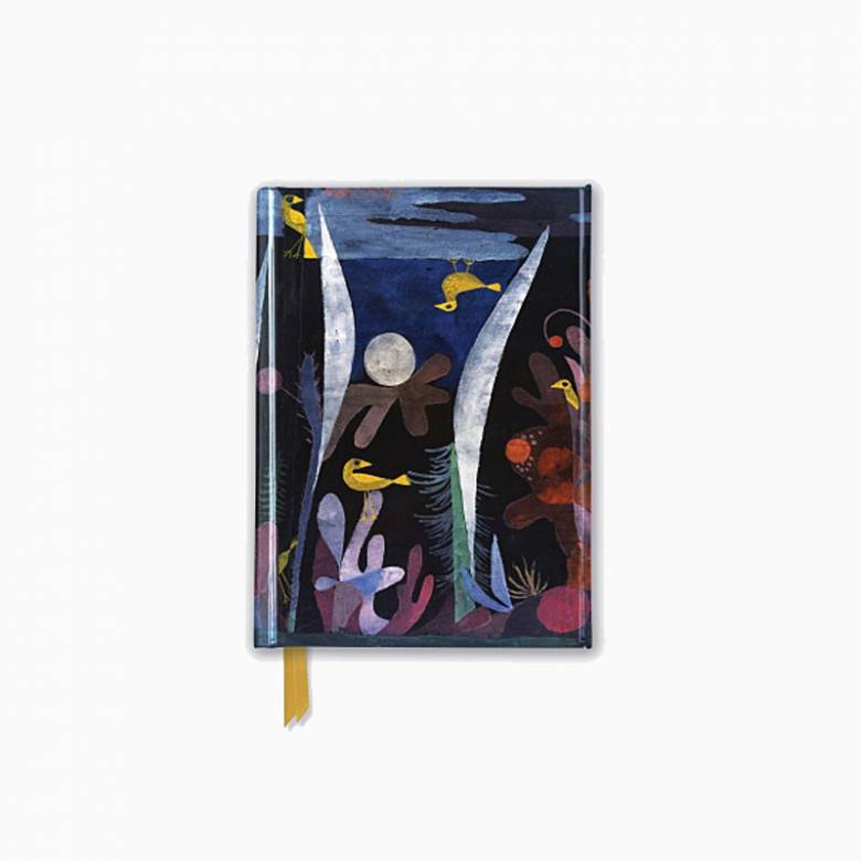 Klee Landscape With Yellow Birds - Foiled Pocket Journal