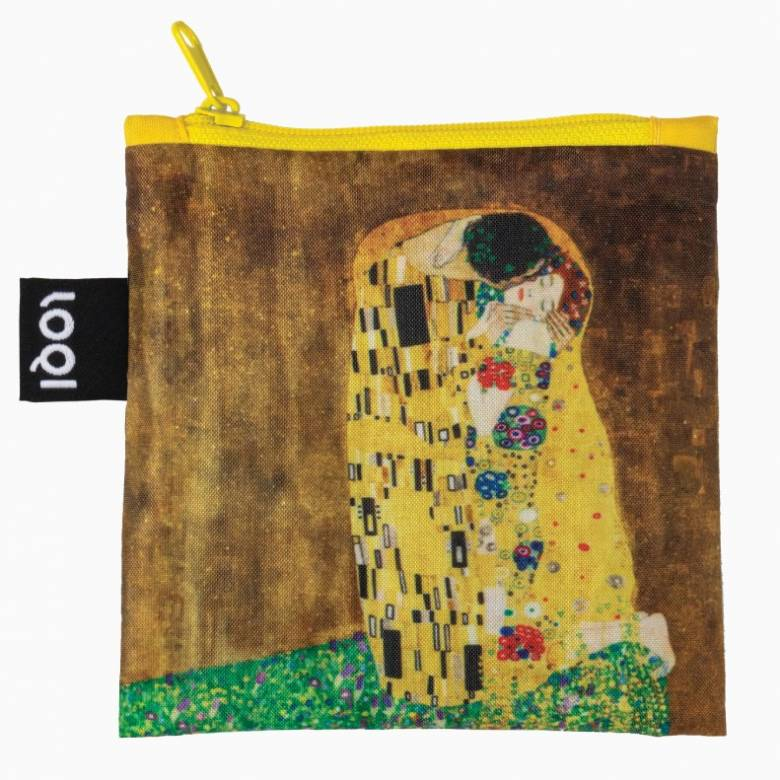 Klimt The Kiss - Reusable Tote Bag With Pouch