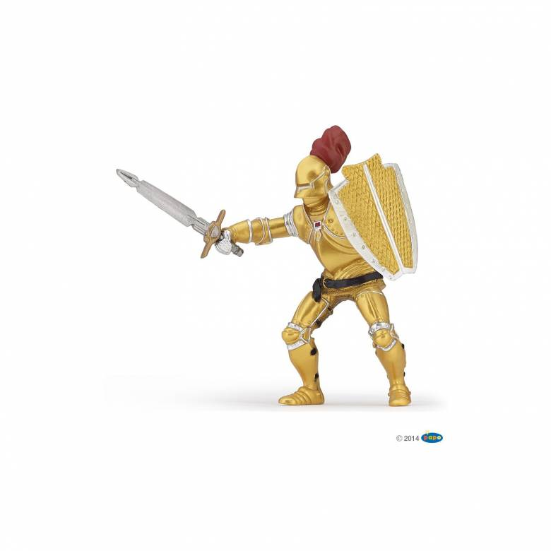 Knight In Gold Armour - Papo Fantasy Figure