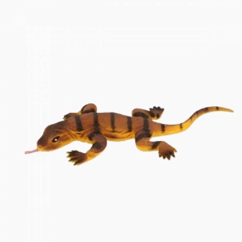 Komodo Dragon Stretchy Beanie Animal Toy 3+