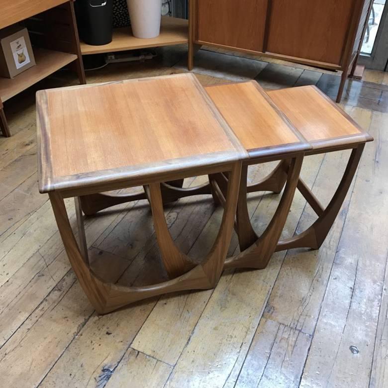 Teak Nest Of Three Tables Astro G Plan 1960s