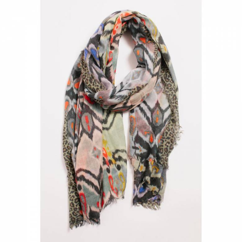 La Fliquet Wool Scarf By Jo Edwards