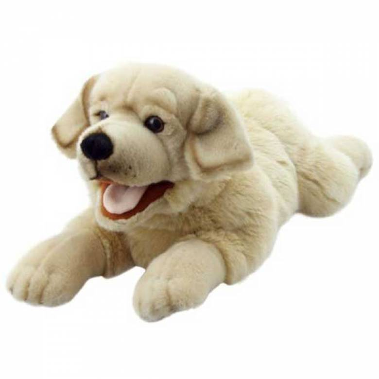 Labrador Full Bodied Hand Puppet