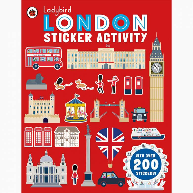 Ladybird London Sticker Activity Book