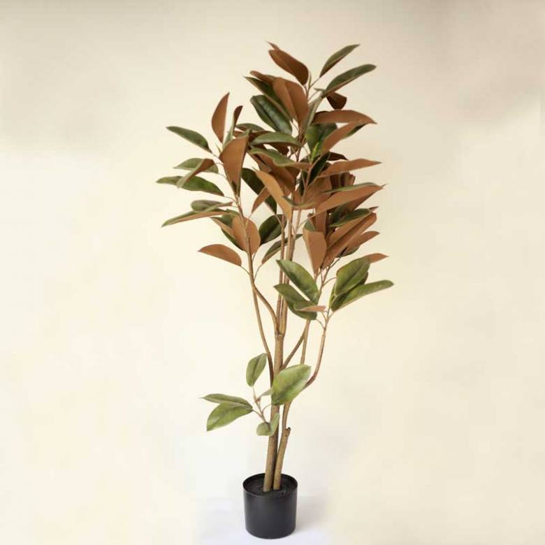 Large Faux Magnolia Tree Plant