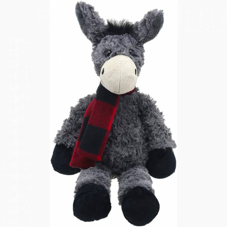 Large Grey Donkey Soft Toy - Wilberry Classics 1+