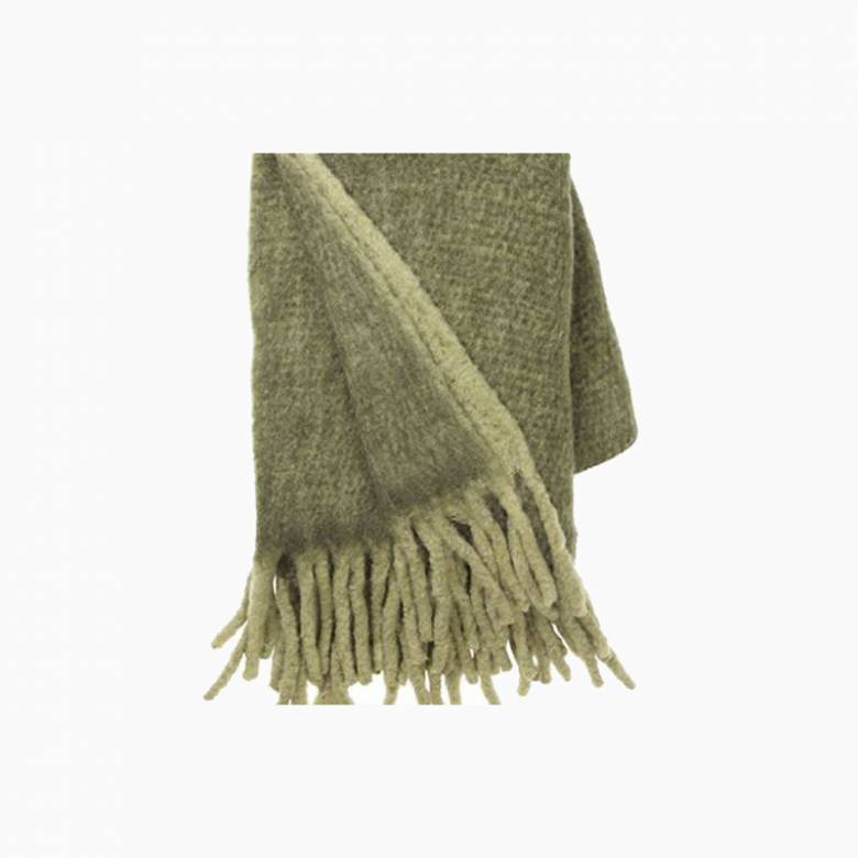 Large Mathea Throw In Olive