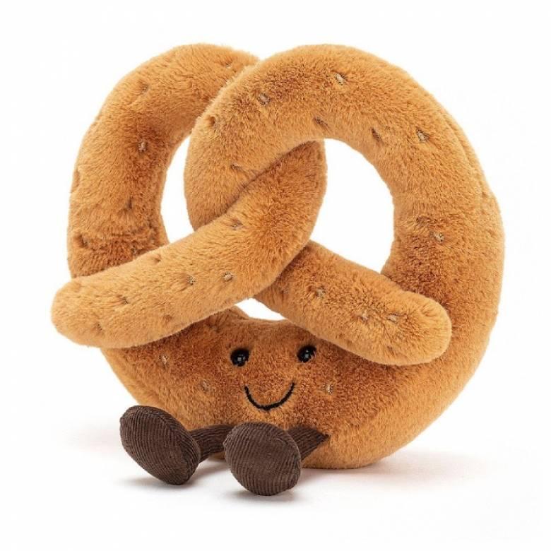 Large Pretzel Amusable Soft Toy By Jellycat