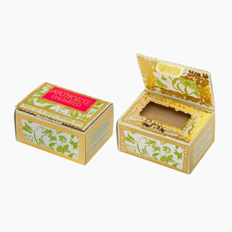 Lauras Floral Organic Soap