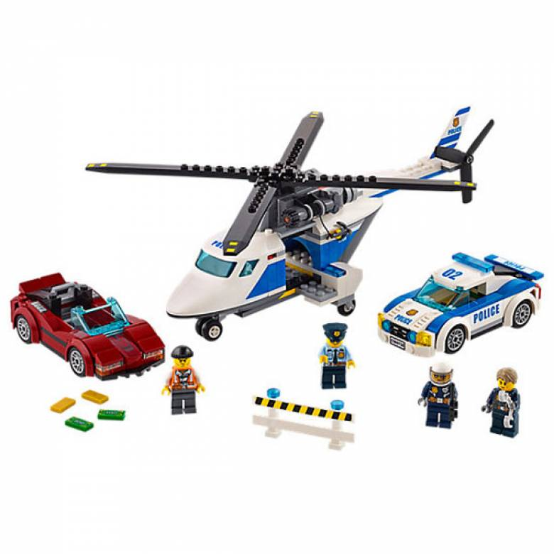 LEGO City High-Speed Chase 60138 - Retiring 2019