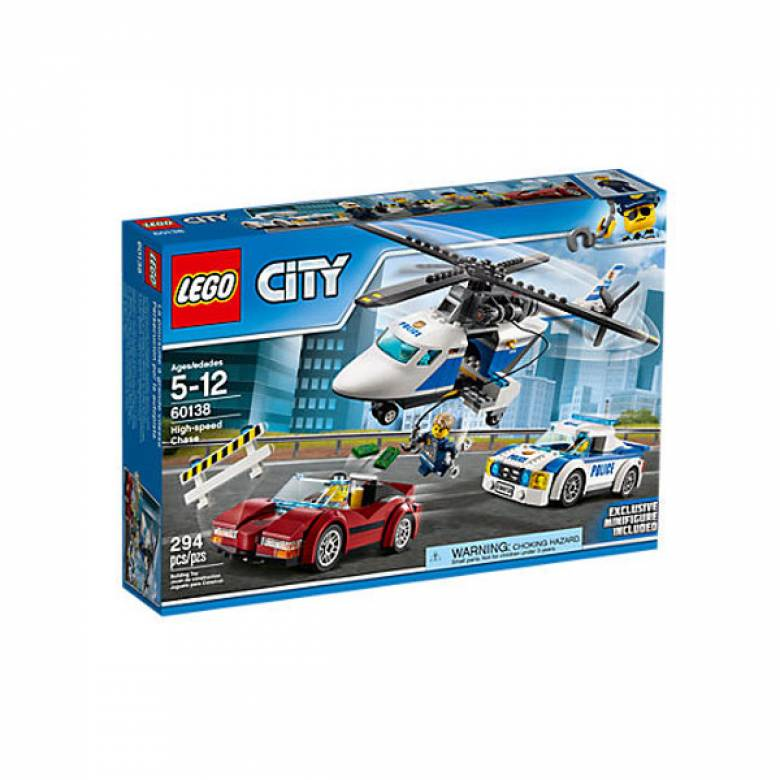 LEGO® City High-Speed Chase 60138 Age 5-12