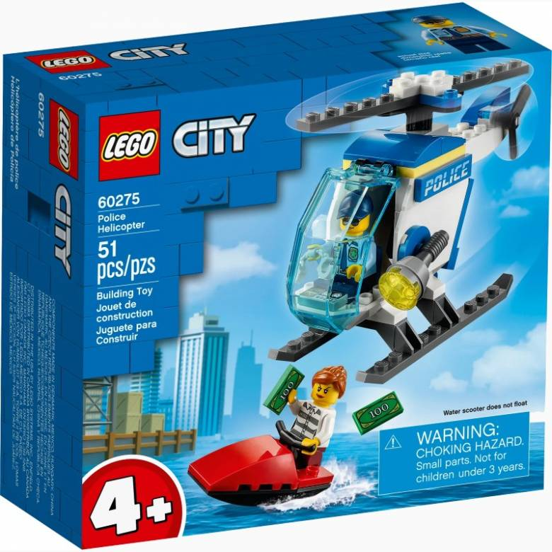 LEGO City Police Helicopter 60275 4+
